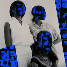 (2014 - 5), Collage,20 x 20 cm, Paper, Acrylic on Film