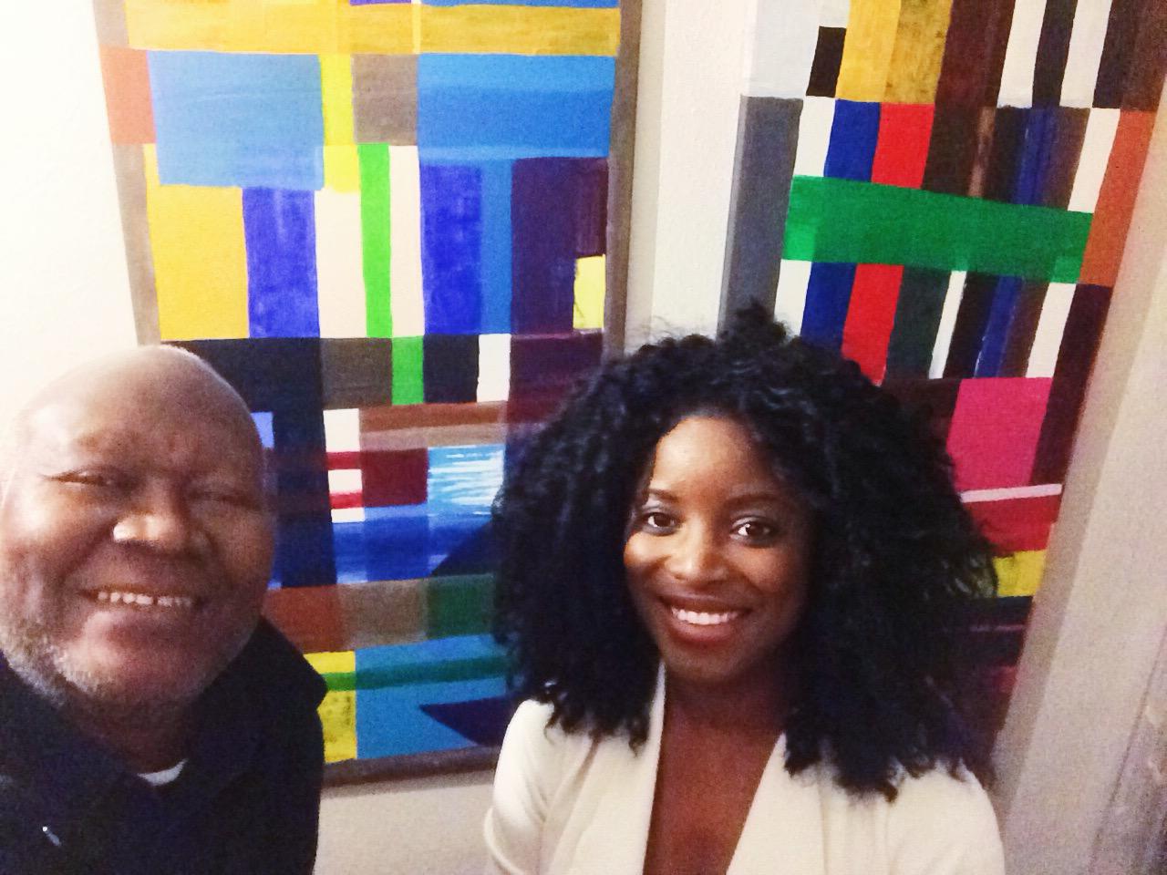 Atta Kwami (left), Sharon Obuobi (right)