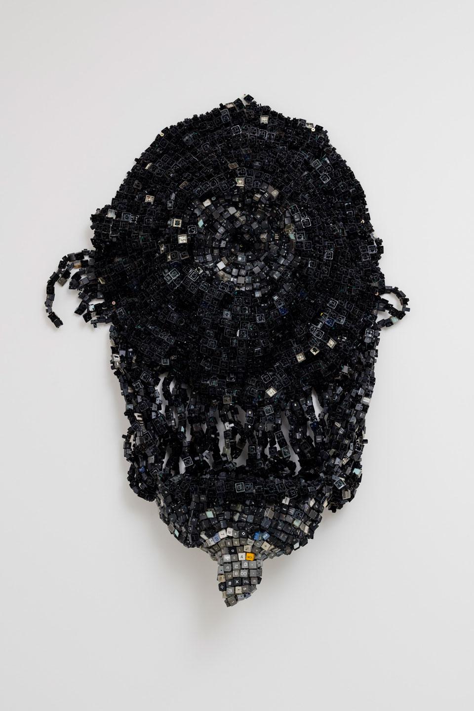 Moffat Takadiwa,  Bantu Terminology , 2017, Computer Keys, 230 x 112 x 6 cm