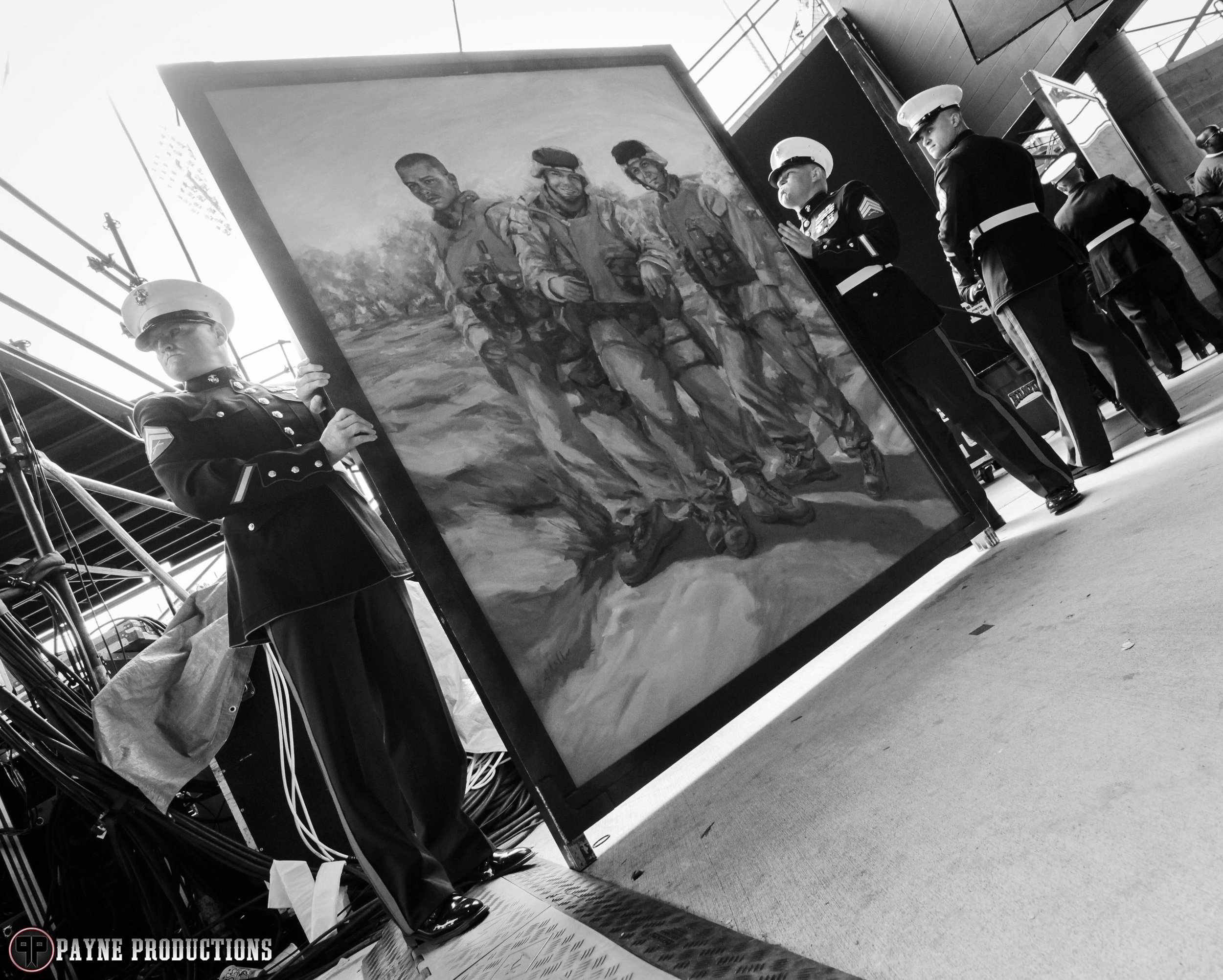 payne productions lima company memorial painting rock on the range.jpg