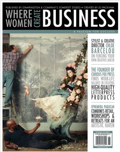 Featured in winter 2018 / where women create business