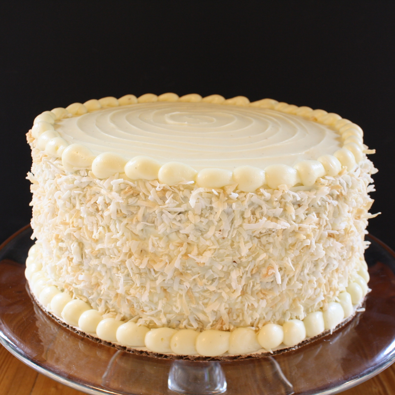 carrot cake  Moist layers of carrot cake loaded with PECANS and coconut, and frosted with our rich cream cheese frosting