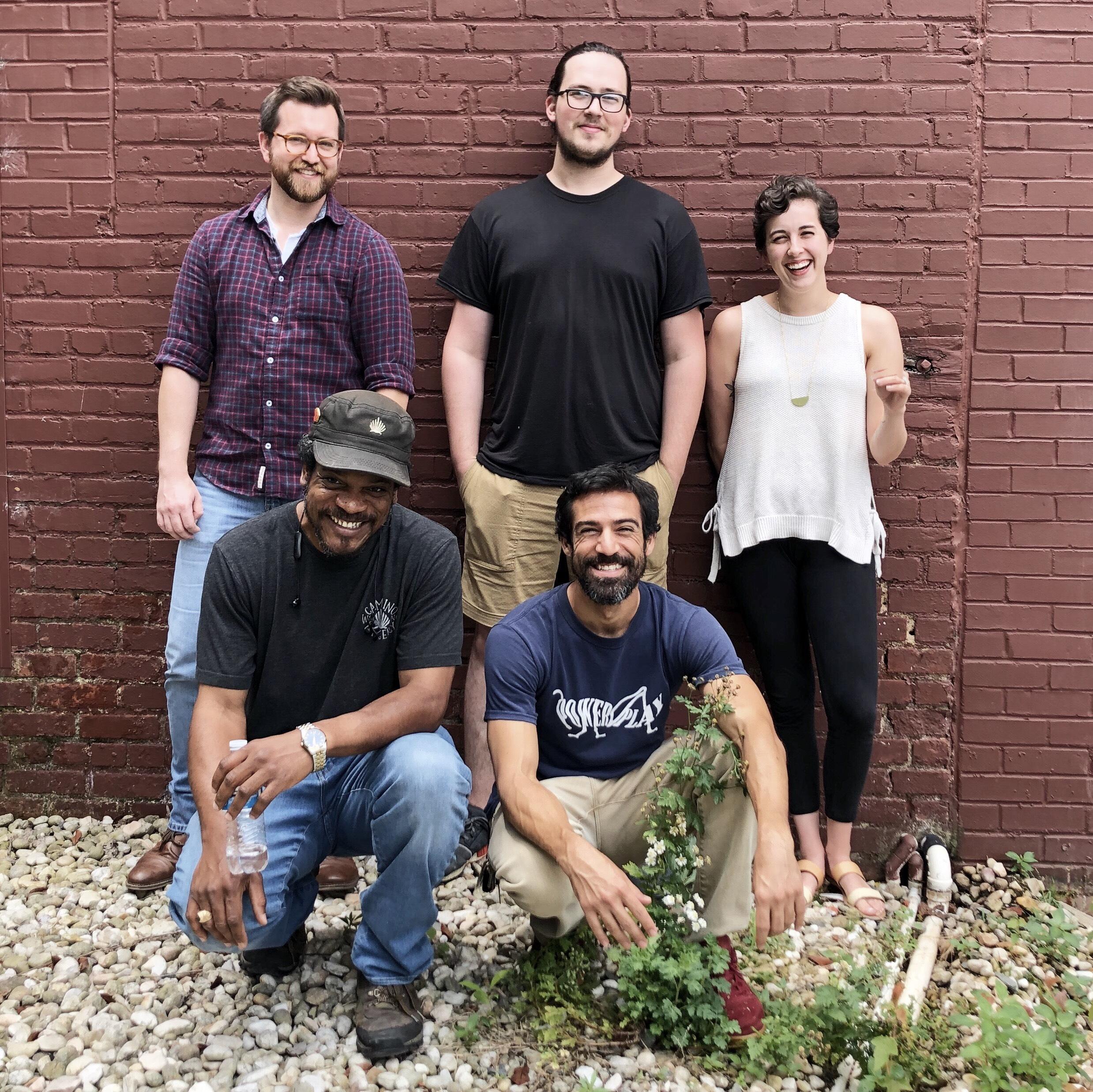 Wholesale team: Nate, patrick, amber, jermaine & quique