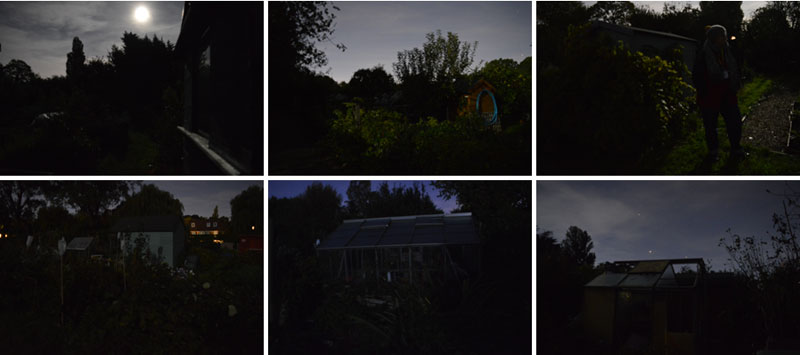 Harvest Moon 2018, images using available light.