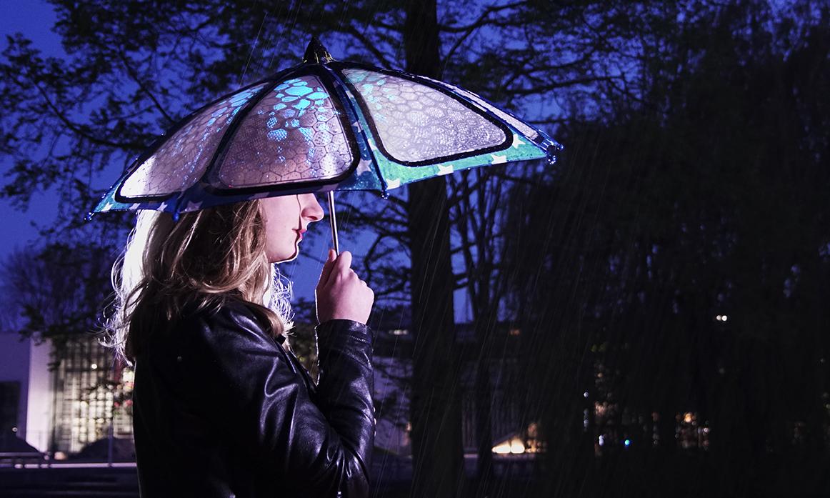 A drop of Light Concept