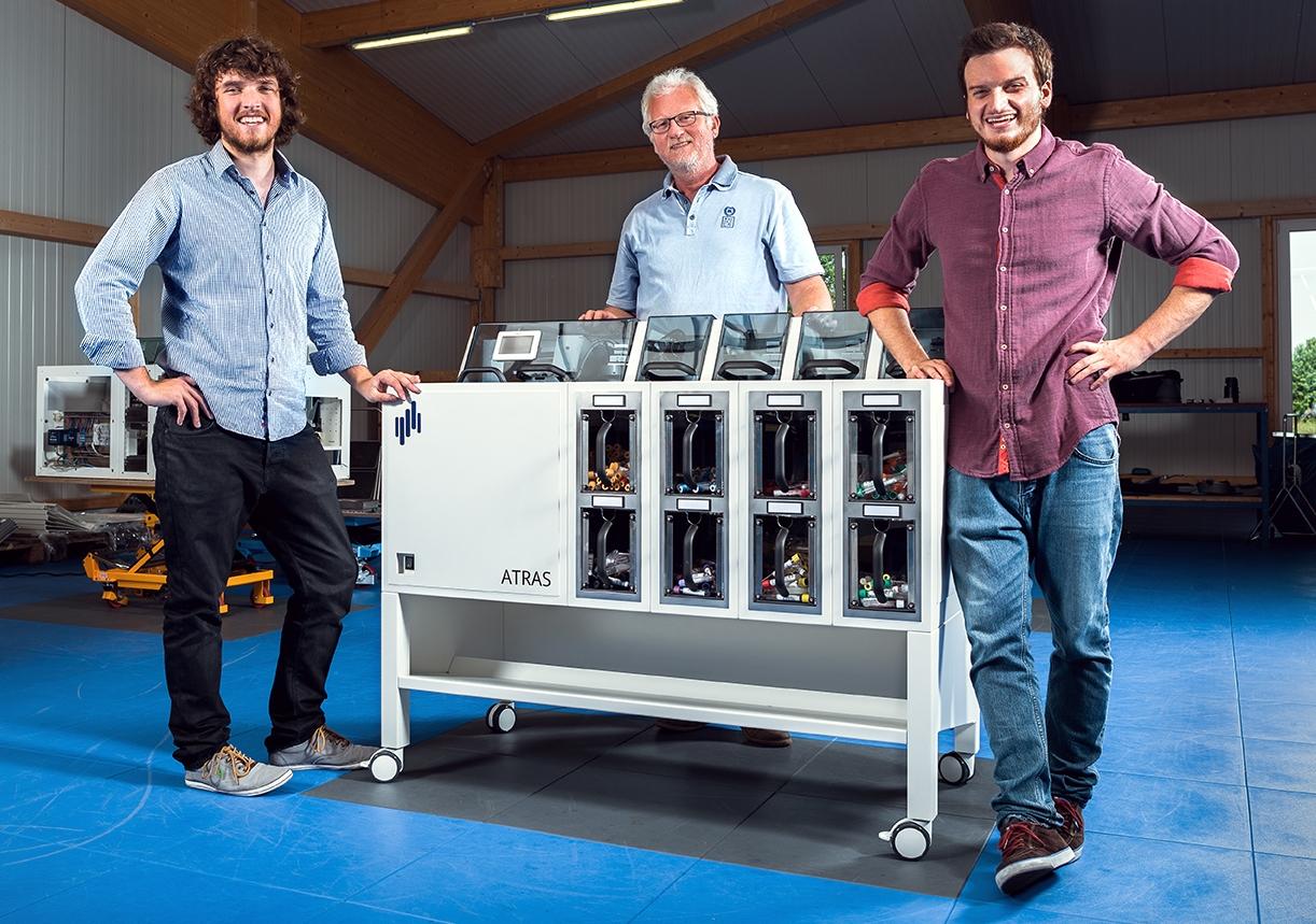 von links: DENNIS, tom und dave lorenzen