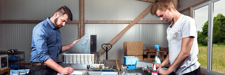 Bulk loader und Rack sorter