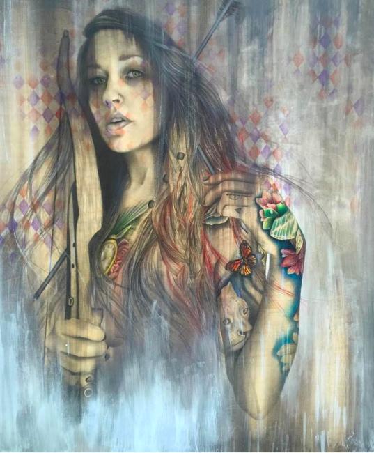 © Rashelle Stetman - Like Arrows, Her Gaze Pierces