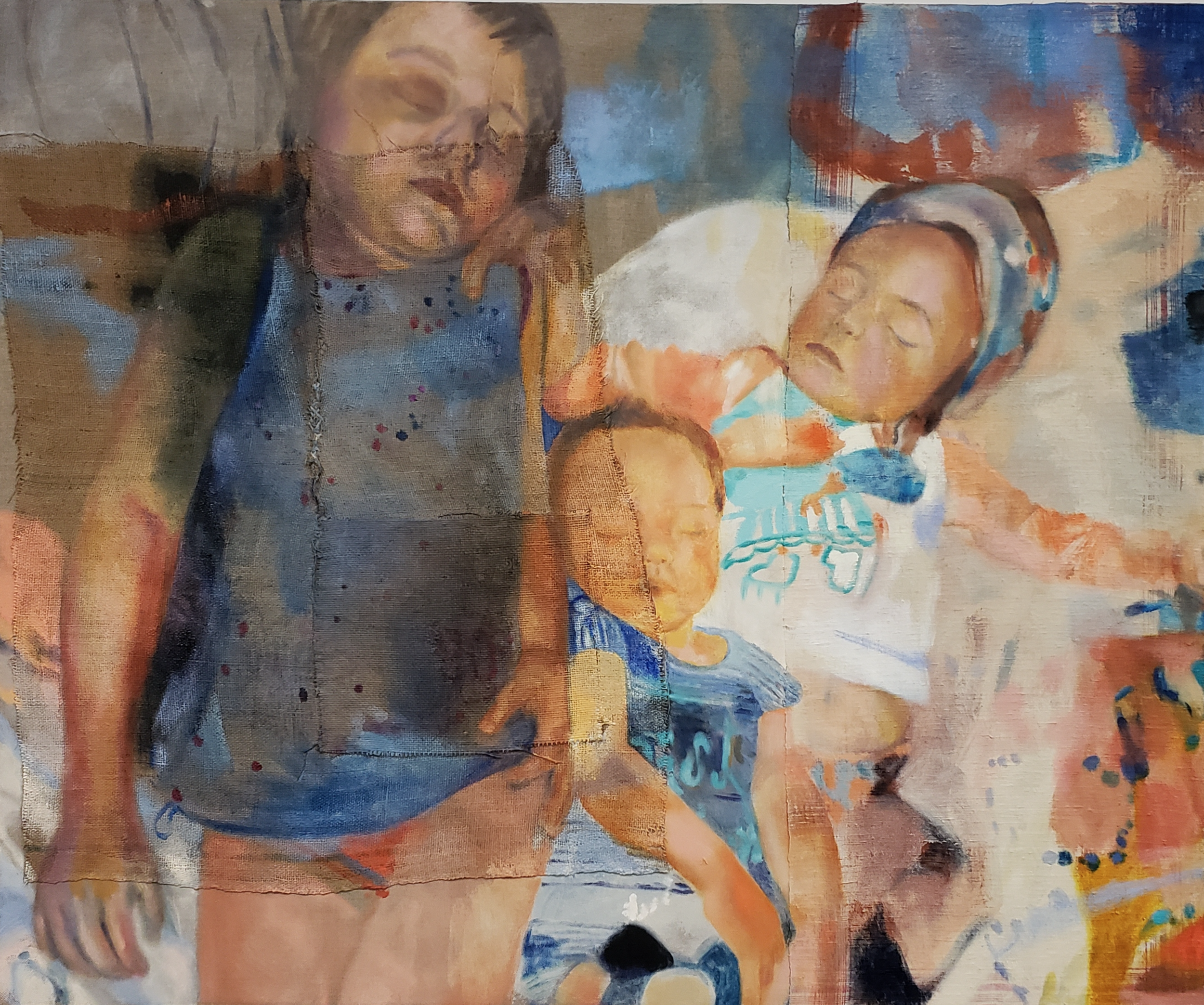 © Rebecca George, 'ARE CLOSER / THEY APPEAR' 2019 (60 x 50)