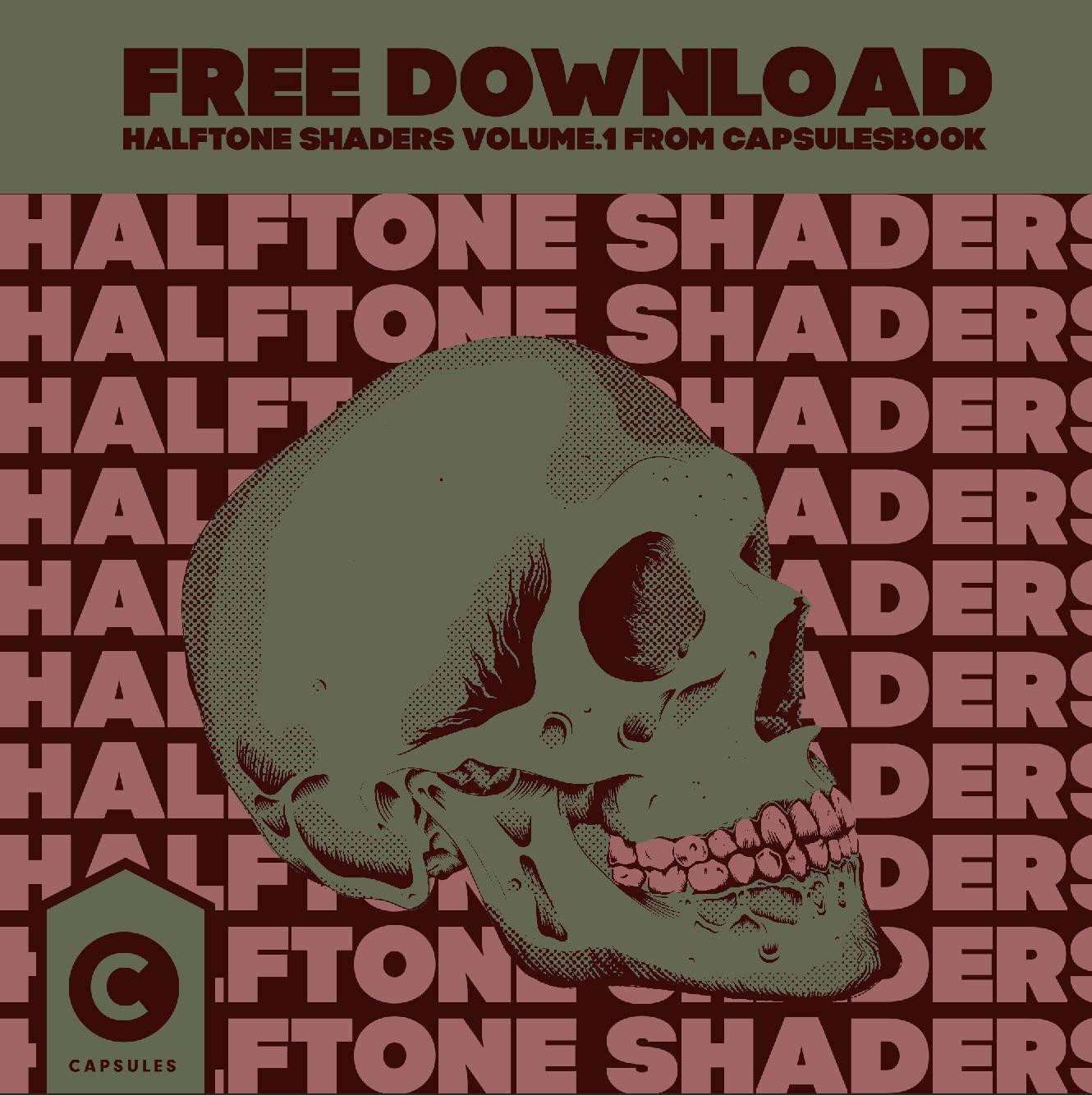 Halftone Shaders Volume.1