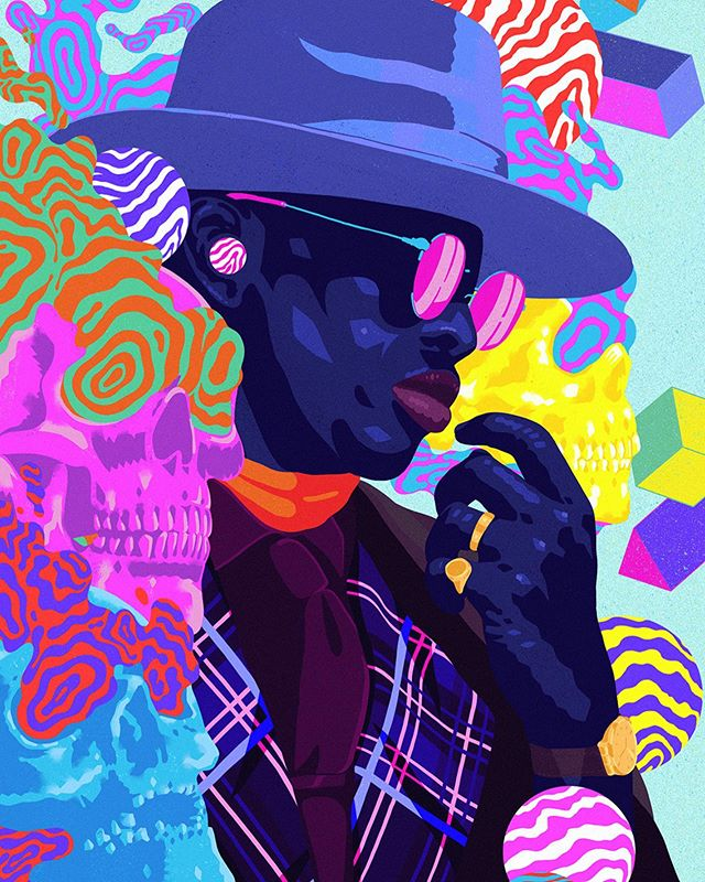 Pablo Espinosa @suga_cyan is an award winning illustrator and digital designer living and working in Auckland. Pablo has worked with household brandnames including Vodafone and The Huffington Post. He is fond of depicting mystical visions that overflow with psychedelic colours and whimsical characters that delight and assault the senses. . . . #graphicdesign #drawing #illustration #illustrations #illustratoroninstagram #illustragram #drawingoftheday #artdiscover #illustrationartists #illustrationartist #illustrated #illustrate #illustracion #moreillustrations #psychedelicart #psychedelic #pattern #illustrator #illustrators #illustratrice #illustrationoftheday #illustration #draw