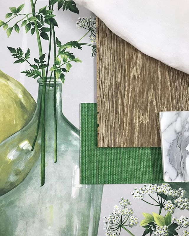 Botanical Inspired scheme 🌿 #classic #greenhues #richtimber #marble #timelessdesign #interiorinspiration #interiordesign #interiordecorating #brisbanebusiness #brisbanedesign #brisbaneinteriors  #sohointeriors