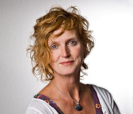 Evelien van Straaten geeft de Mindfulness training