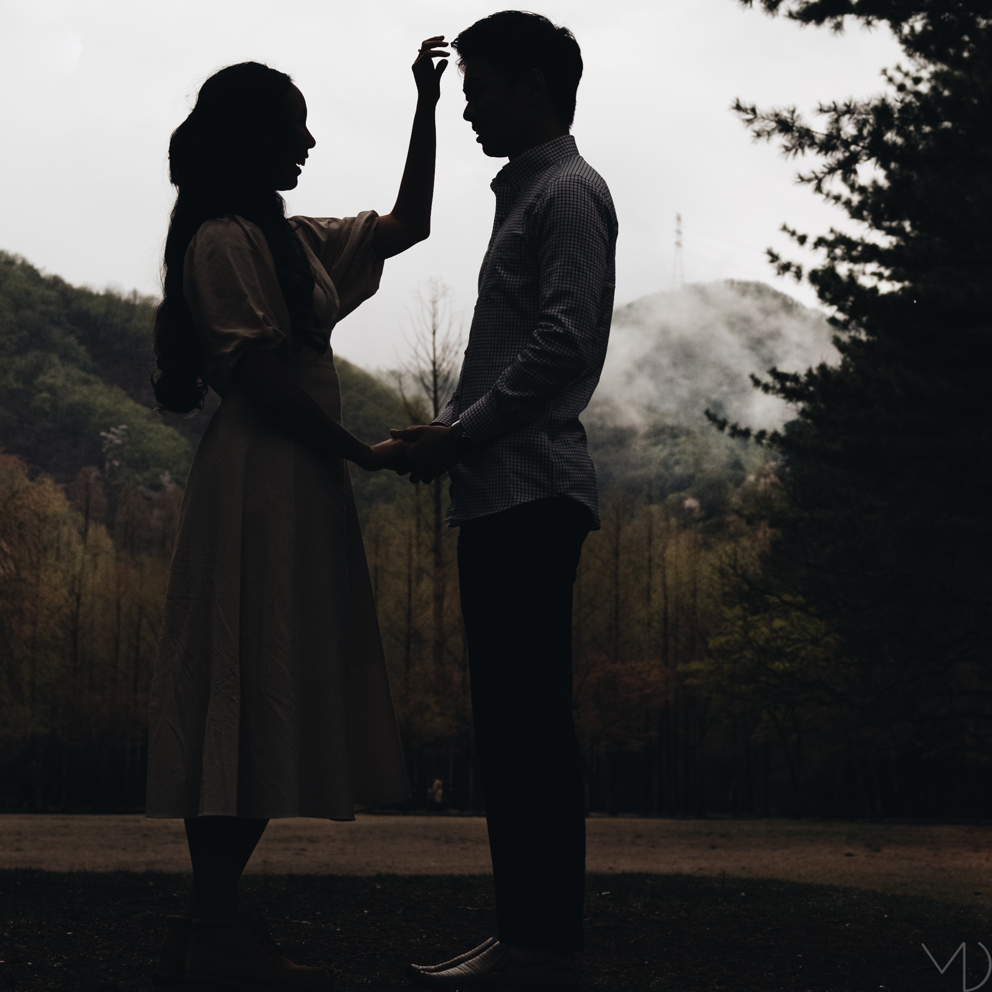 An Engagement Session on Nami Island