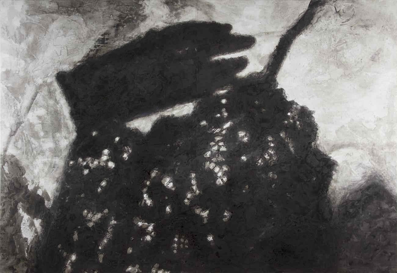 Ola Billgren  Klädnad 1  1990 Oil on canvas 190 x 277 cm