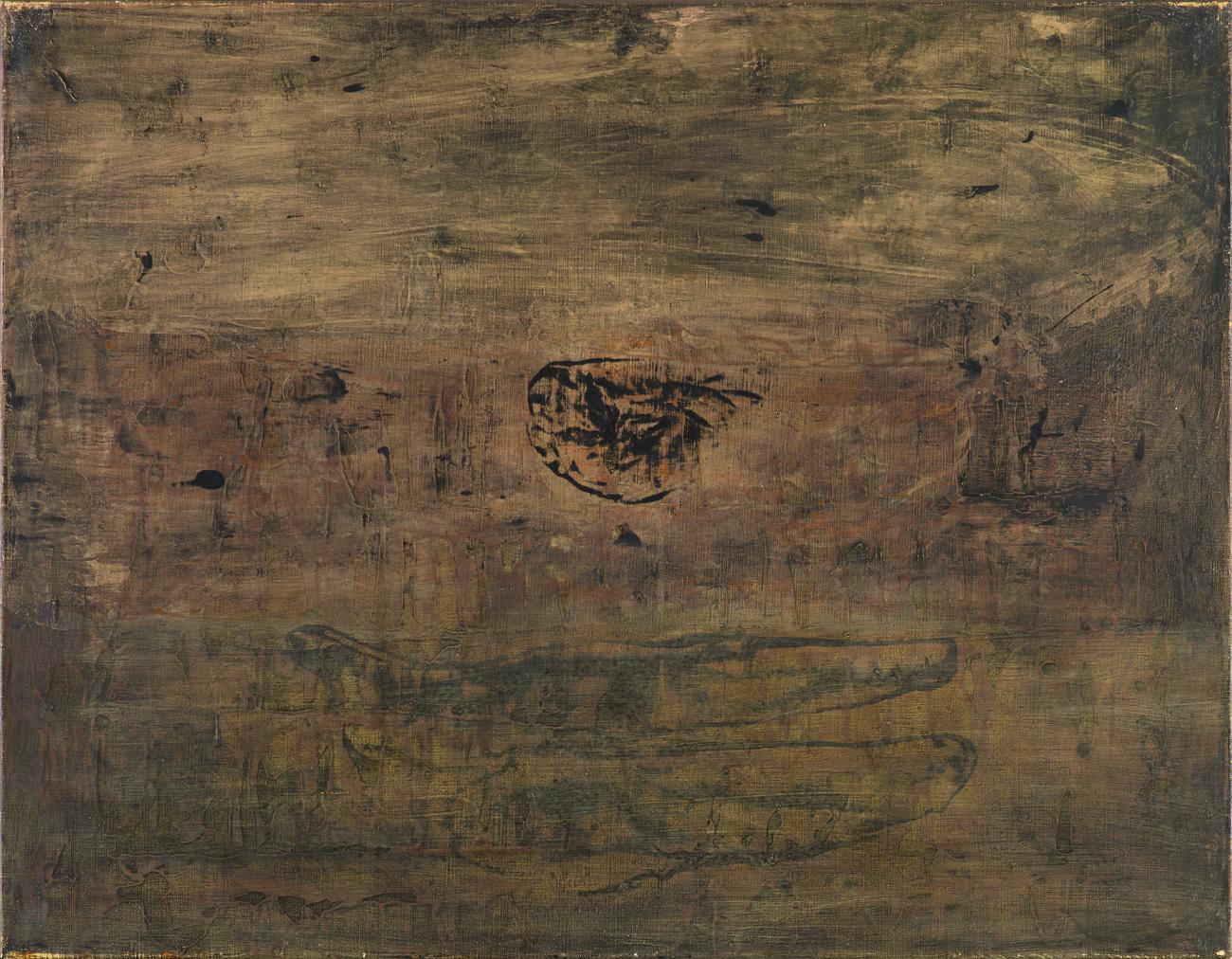 Olav Christopher Jenssen  Untitled  1989 Oil on canvas 70 x 90 cm