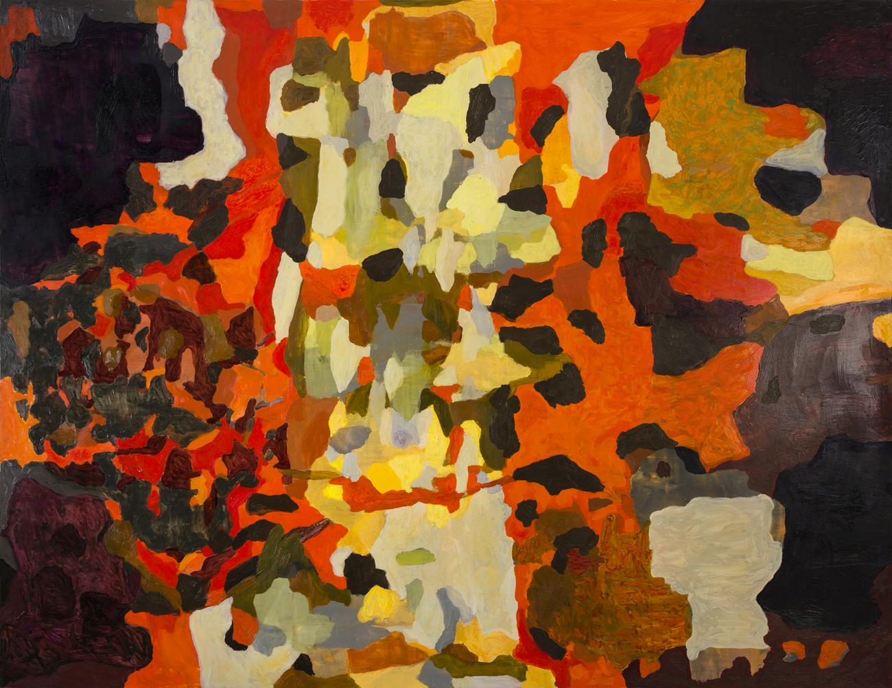 Rolf Hanson  Utan titel  2004 Oil on canvas 185 x 240 cm