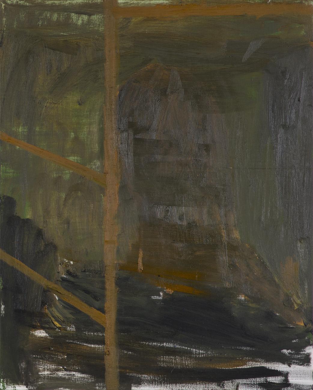 Andreas Eriksson  Skugga 2  2010 Oil on panel 75 x 60 cm