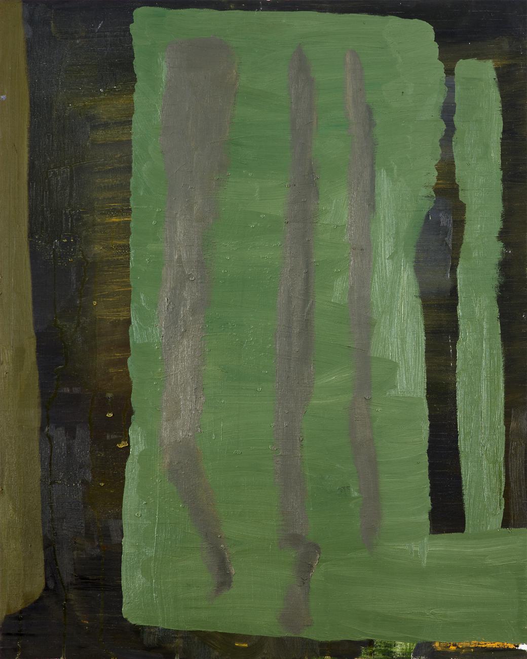Andreas Eriksson  Draperi  2010 Oil on panel 75 x 60 cm