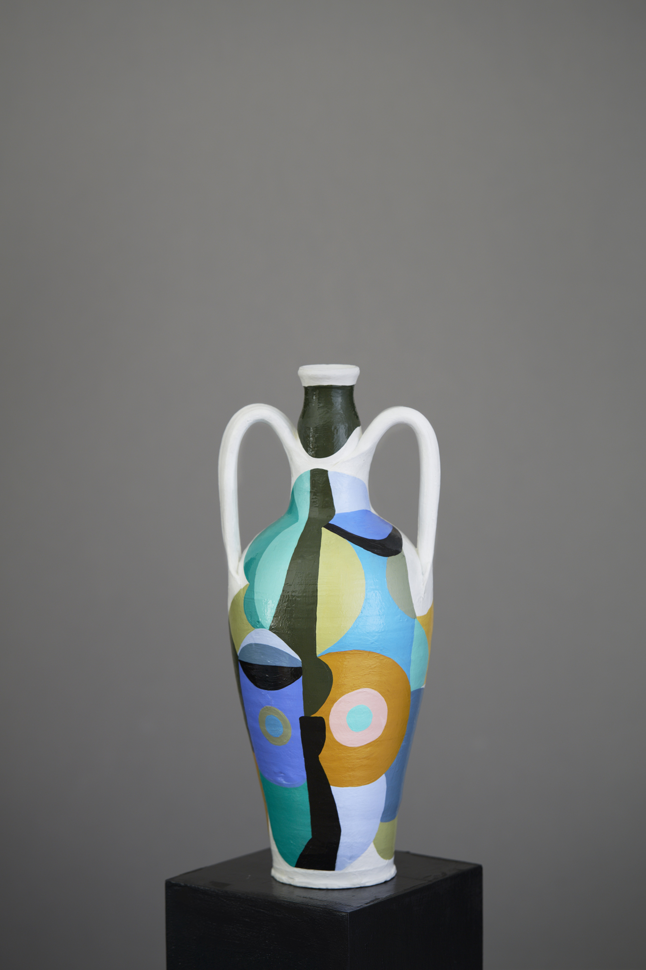 Liselotte Watkins   Dima  2016 Painted Terracotta 31 x 15 cm