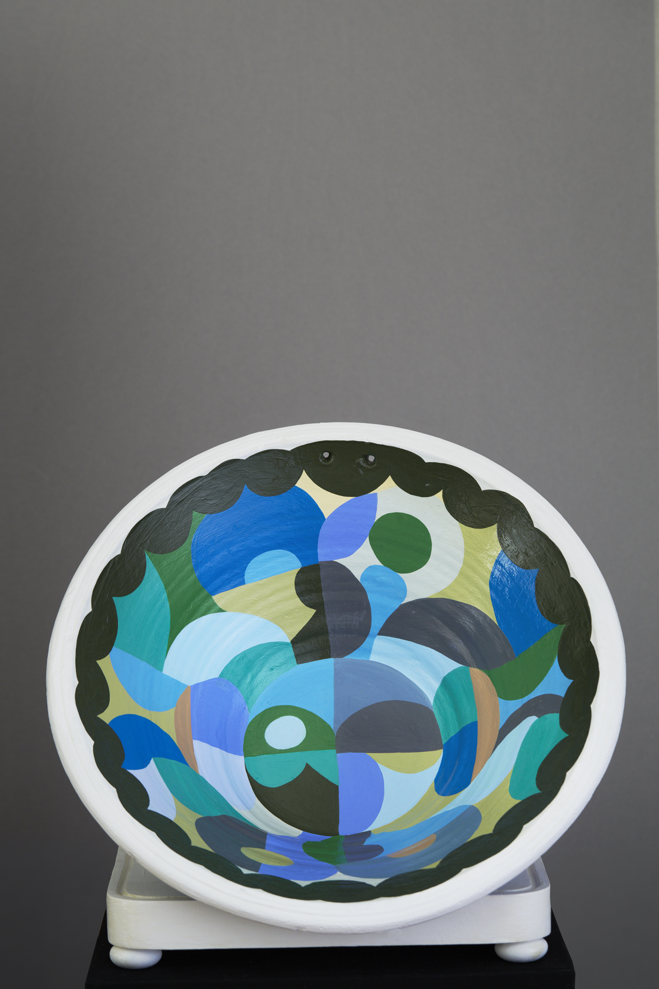 Liselotte Watkins   Mina  2016 Painted Terracotta 45 x 16 cm