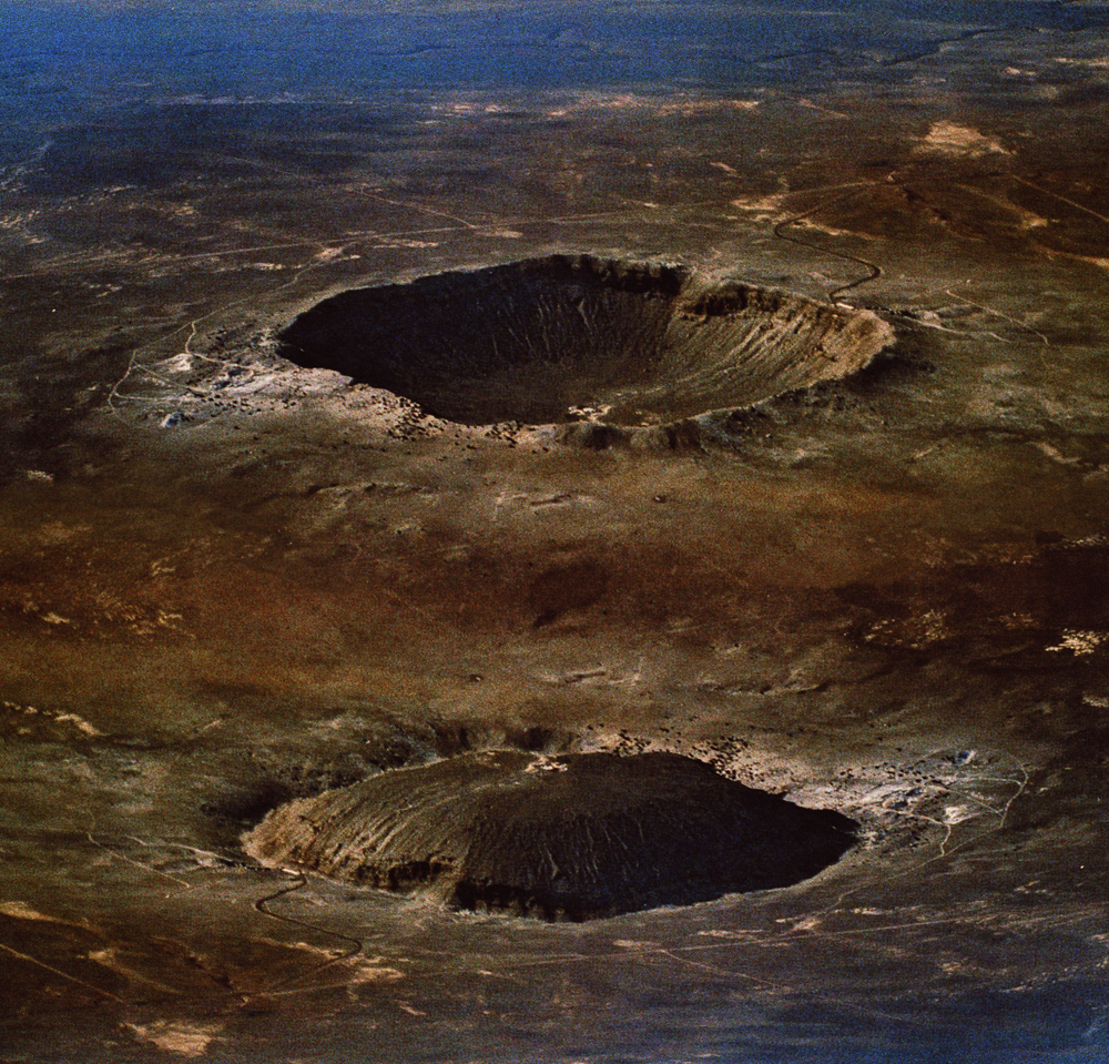 Heike Baranowsky   Crater  2009 C-print on aluminum 57,5 x 60 cm Edition: 1 of 10 Aerial photograph by Stock Trek Image courtesy of the artist and Galerie Barbara Weiss