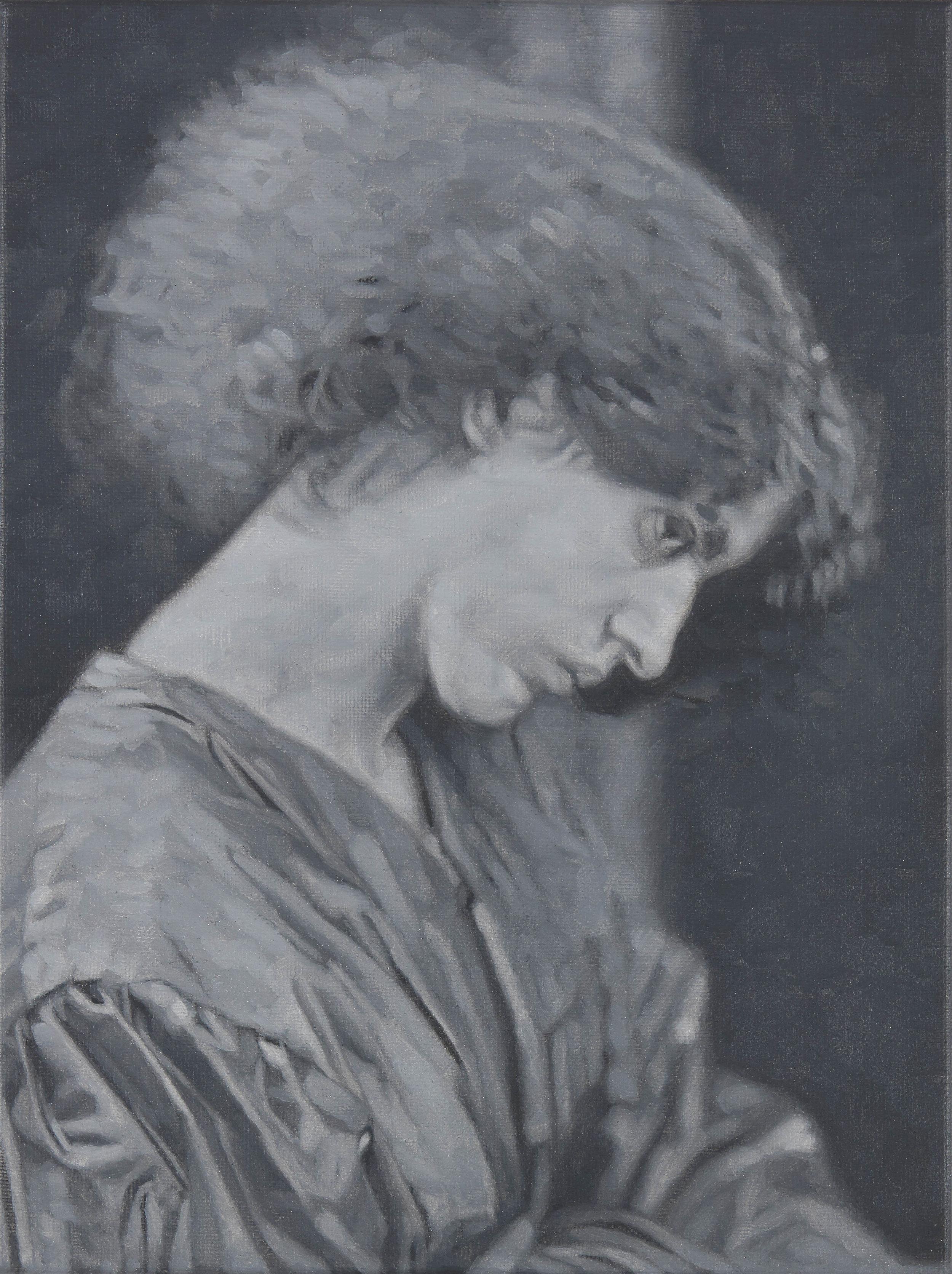 Tomas Lundgren   Model (6)  2016 Oil on canvas 21 x 28 cm