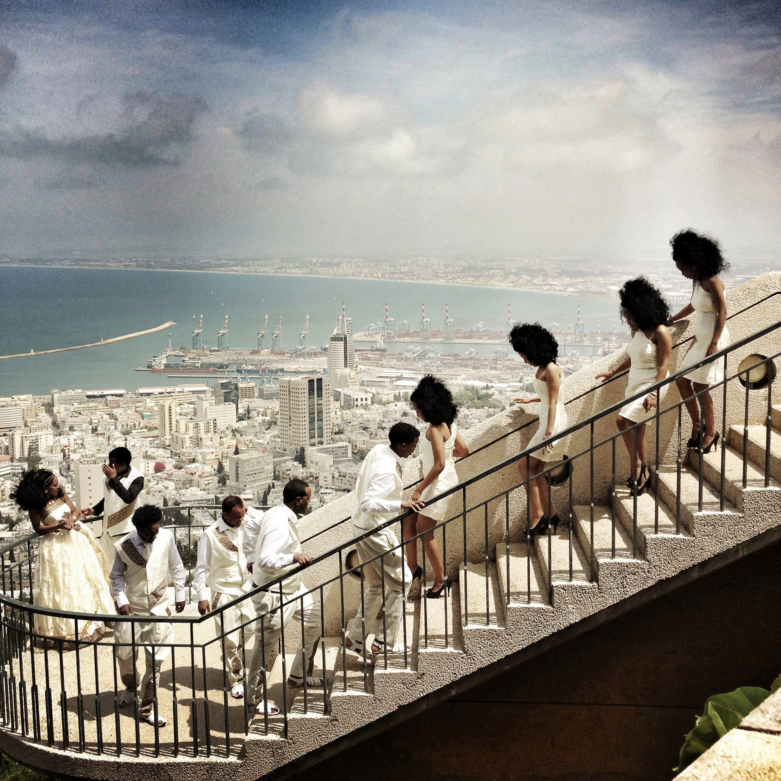 Malin Fezehai   Eritrean Wedding in Haifa  2014 C-print 40 x 40 cm