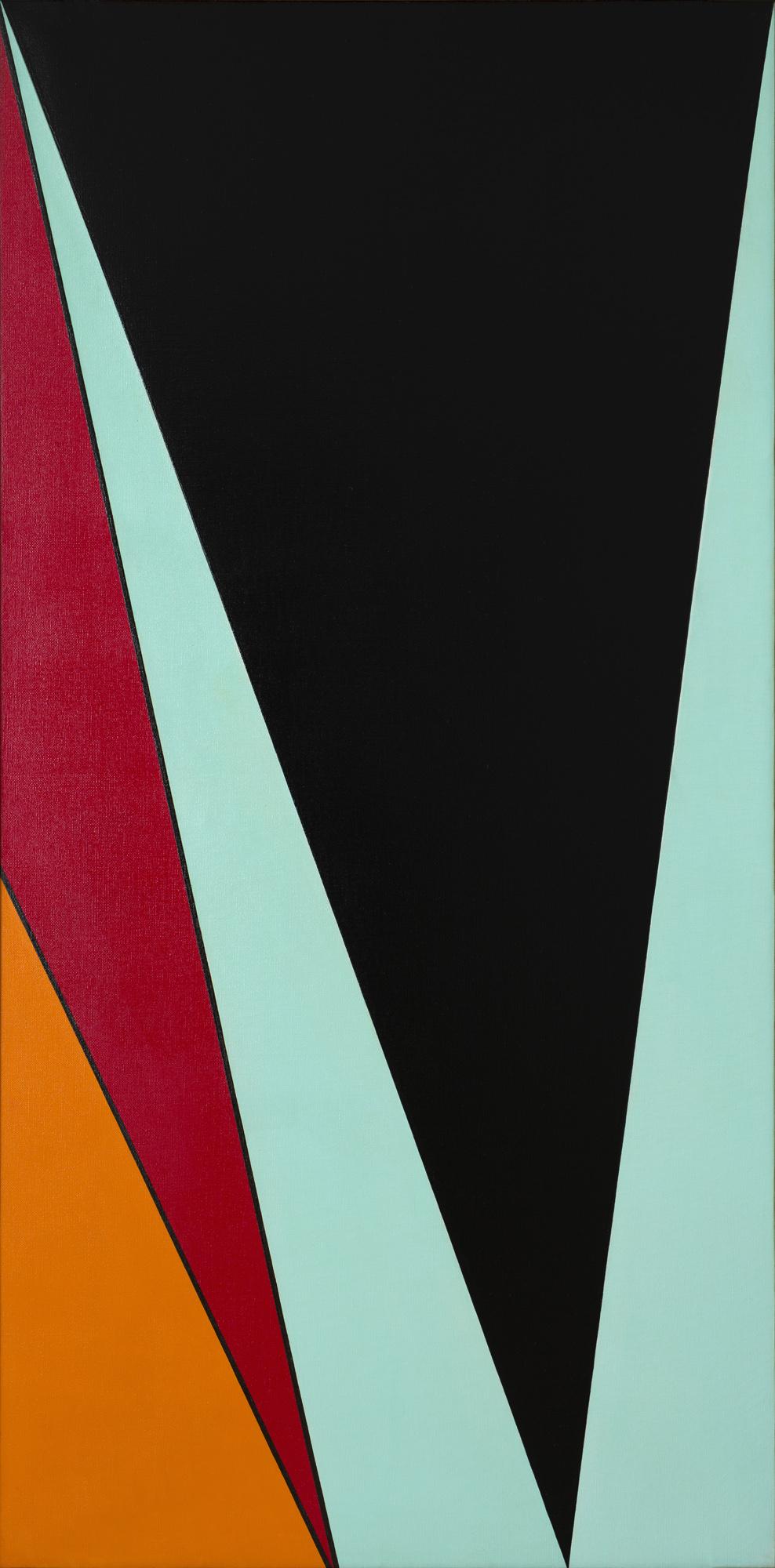 Olle Baertling   Oga  1960 Oil on canvas 195 x 97 cm