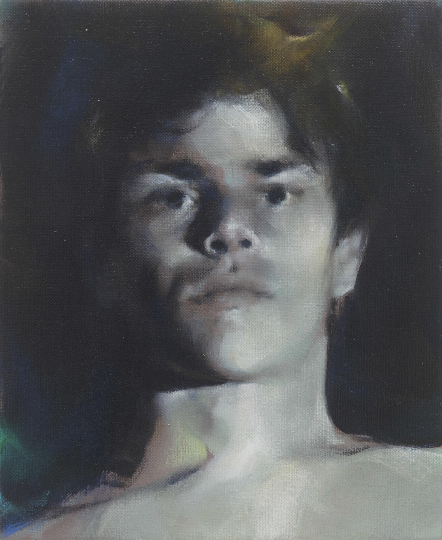 Paul P   Untitled  2015 Oil on linen 27 x 22 cm