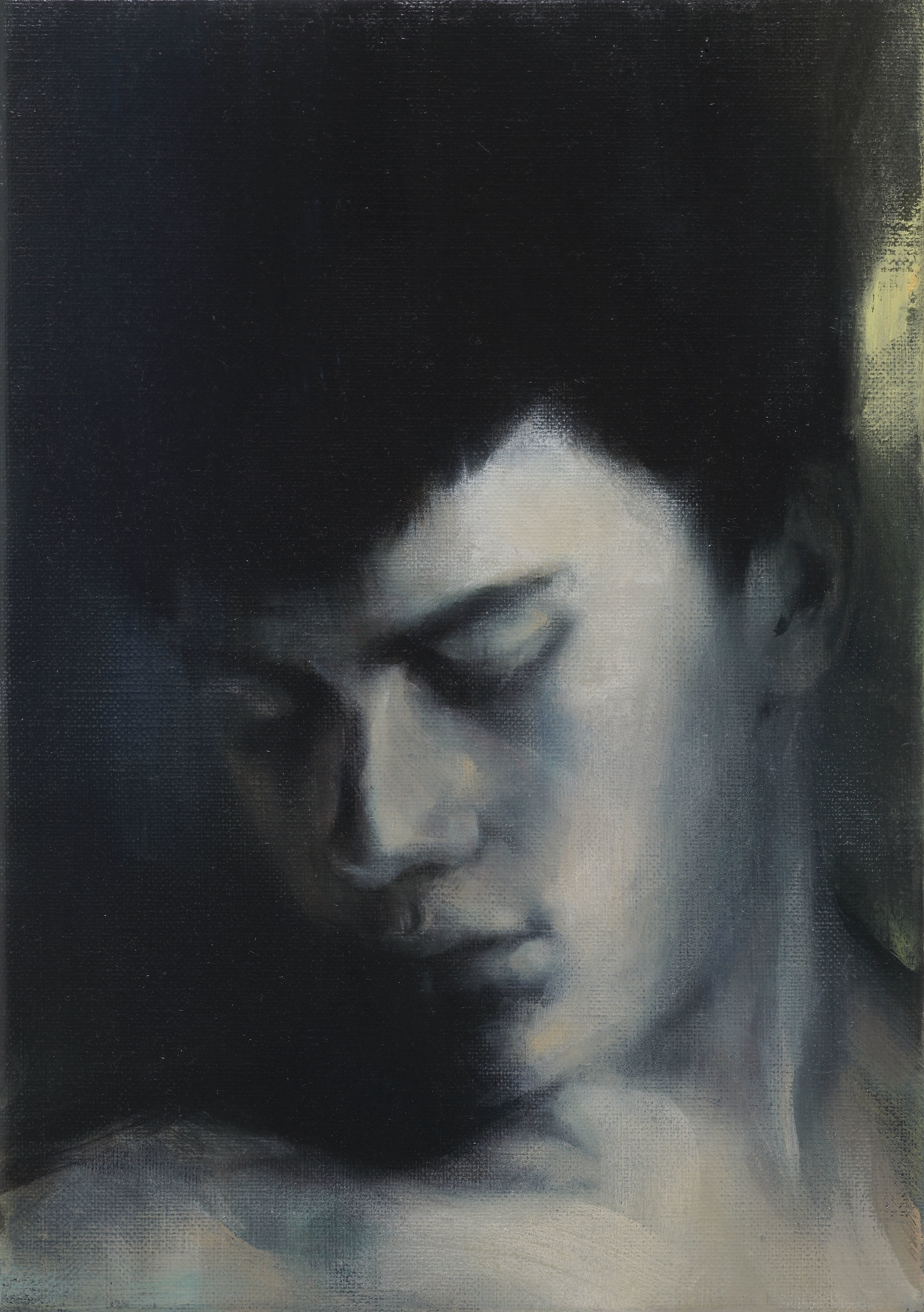 Paul P   Untitled  2012 Oil on canvas 27 x 19 cm