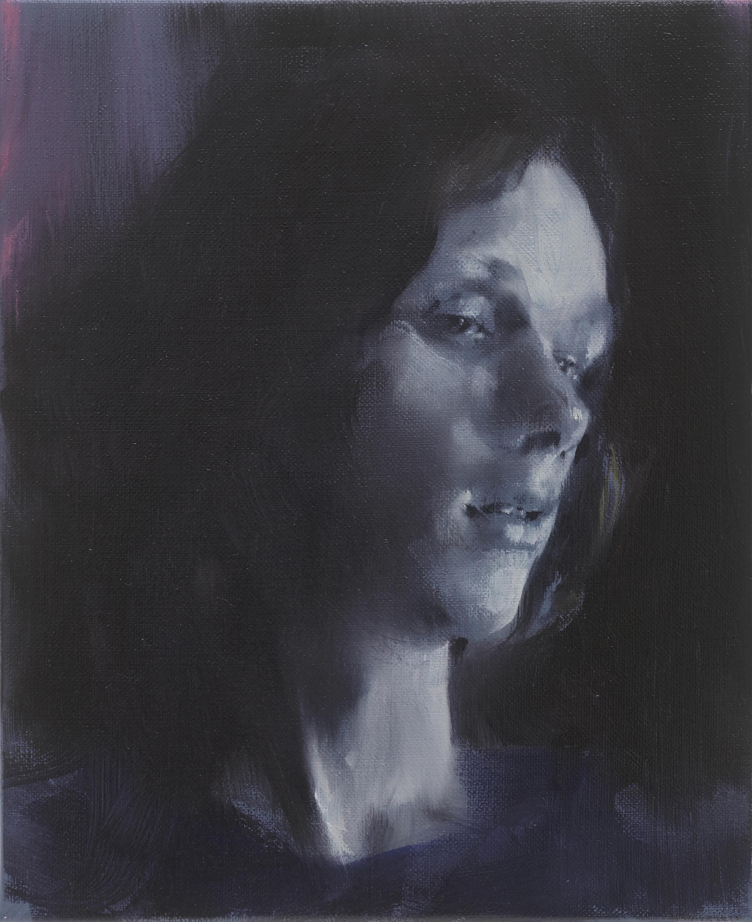 Paul P   Untitled  2016 Oil on linen 27 x 22 cm