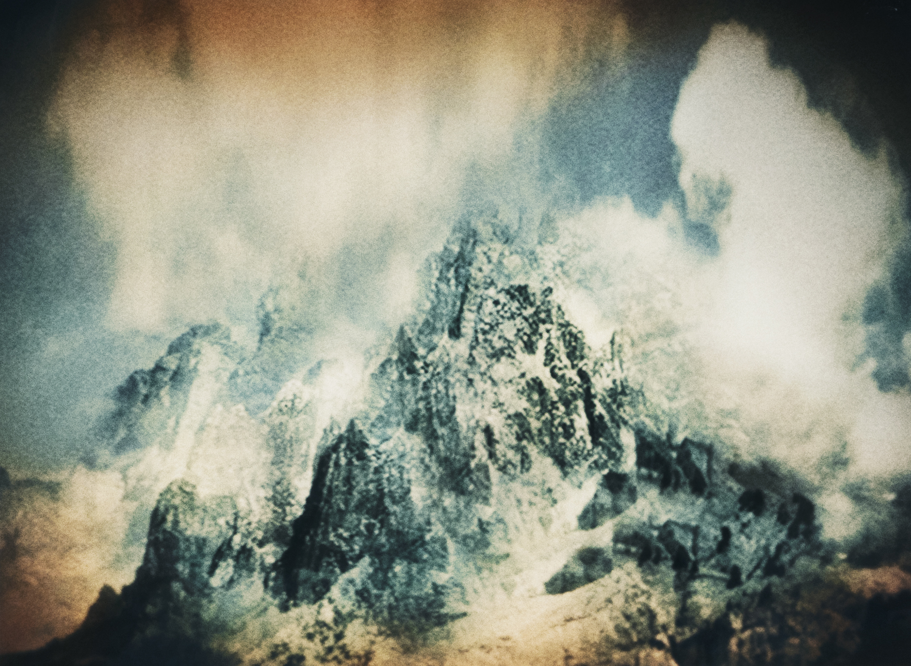 Jacob Felländer   When it all falls where will you be? When paper walls make the silence grow, who will you hold?  Nuptse Peak, Himalaya, 2016 Archival Pigment Print 110 x 135 cm Edition 3+1