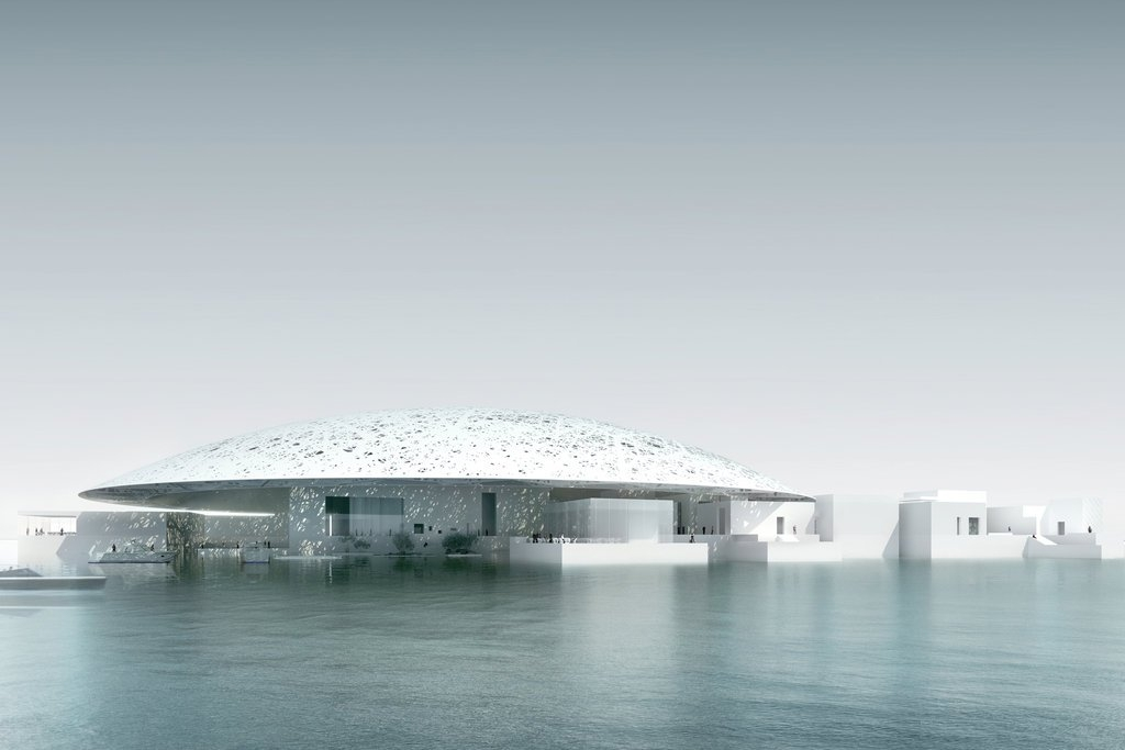 Louvre, Abu Dhabi, architect Jean Nouvel, inaugurated Nov 2017