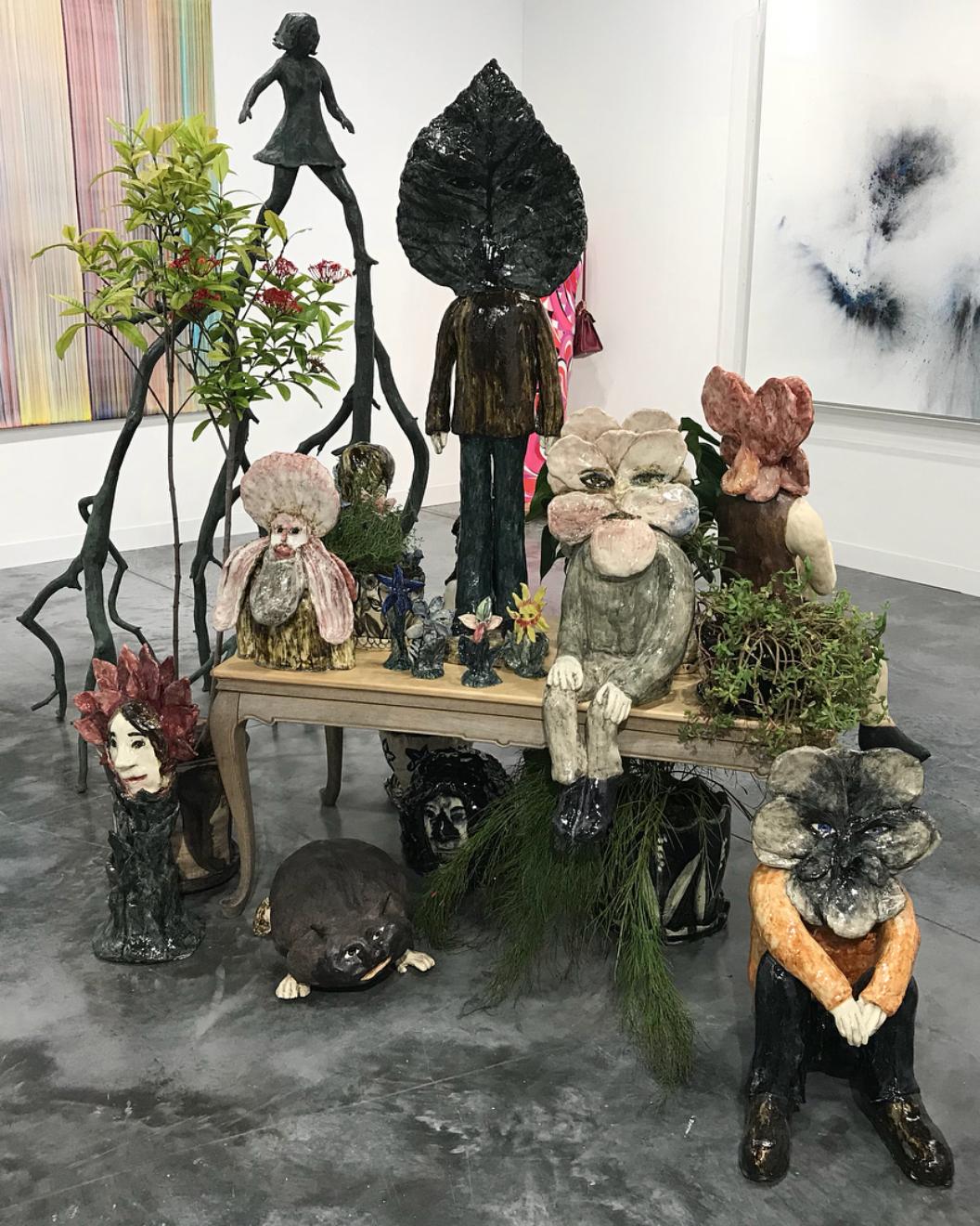 Perrotin:Klara Kristalova, Camouflage, 2017