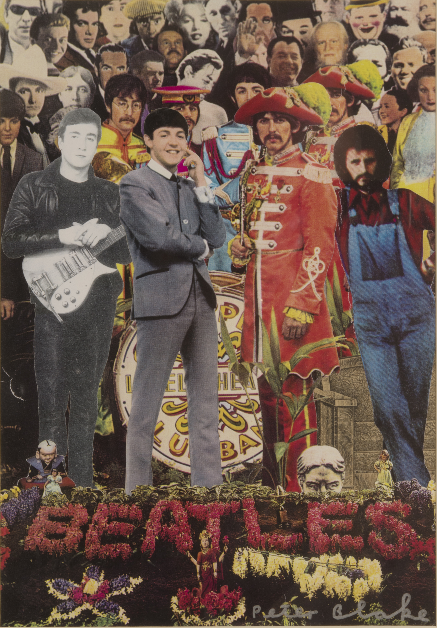Peter Blake   Cover for 'TV Guide'  USA, 18 November 1995, 1995 Collage 27,8 x 19 cm
