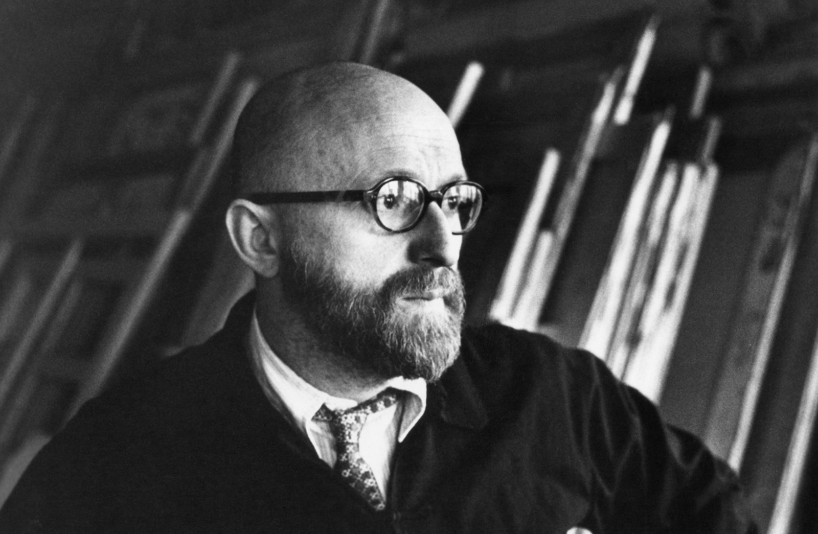 Pierre Alechinsky, 1977. Photo: Courtesy CMOA archives.