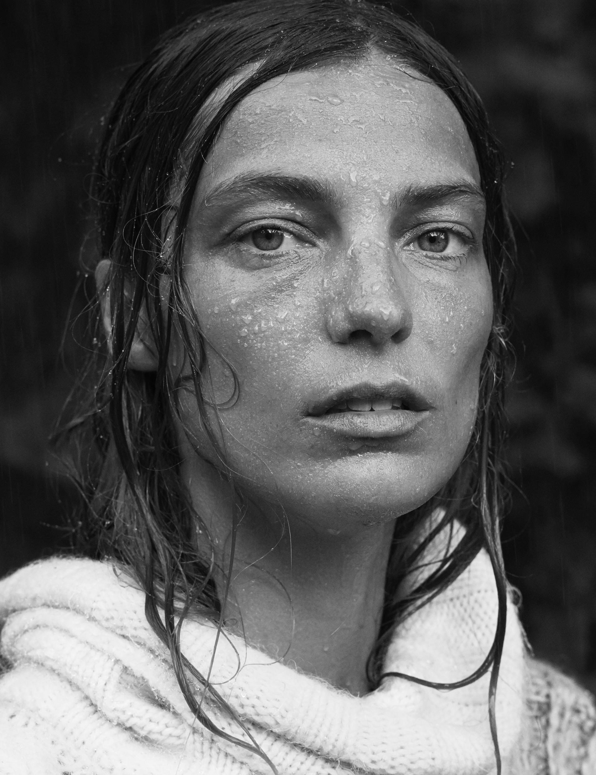 Daria, The Archipelago series # 19.  Sweden, 2014. Silvergelatin mounted on aluminum.