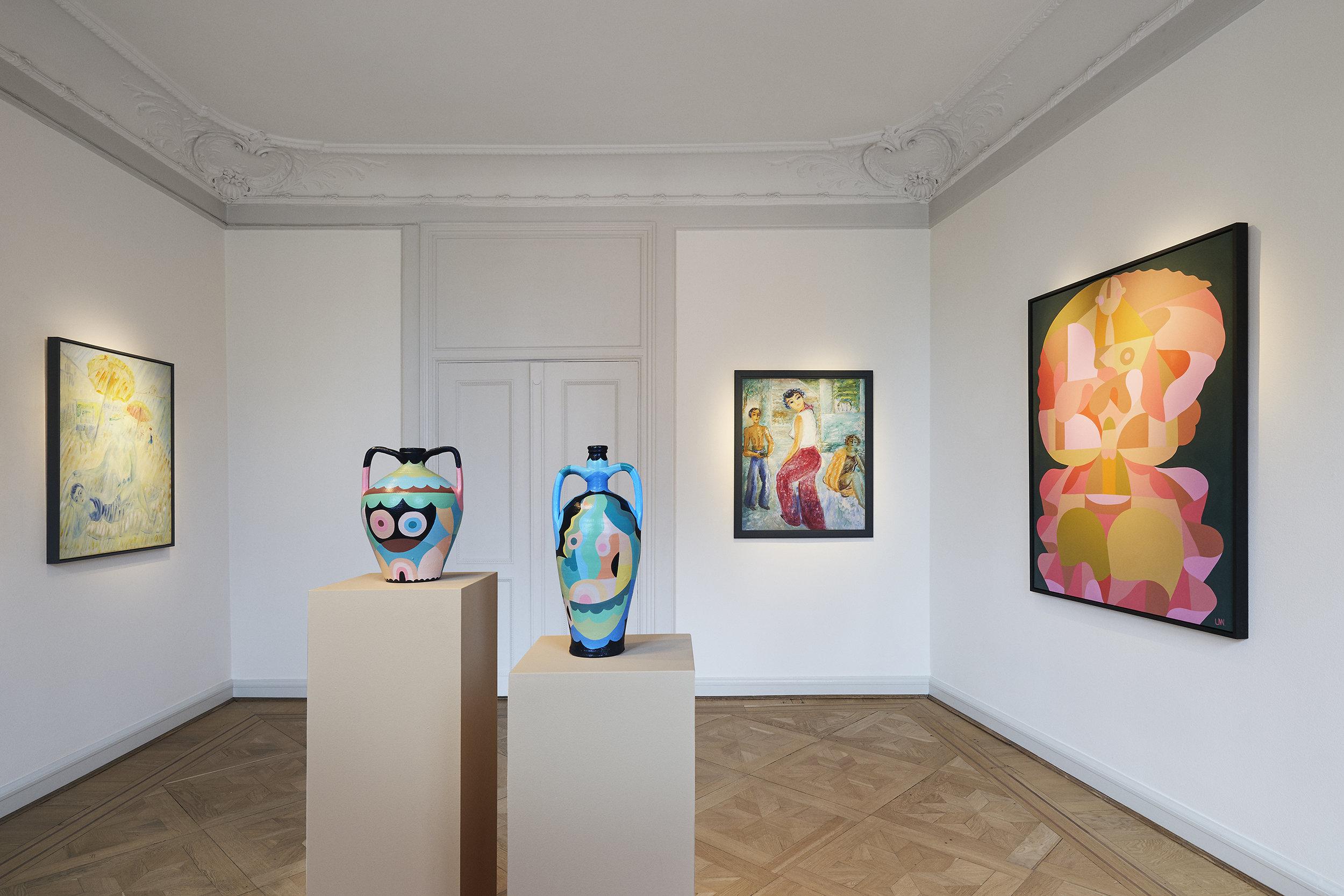 Two artistis,two centuries - Now open at CFHILL:Liselotte Watkins & Sigrid Hjertén