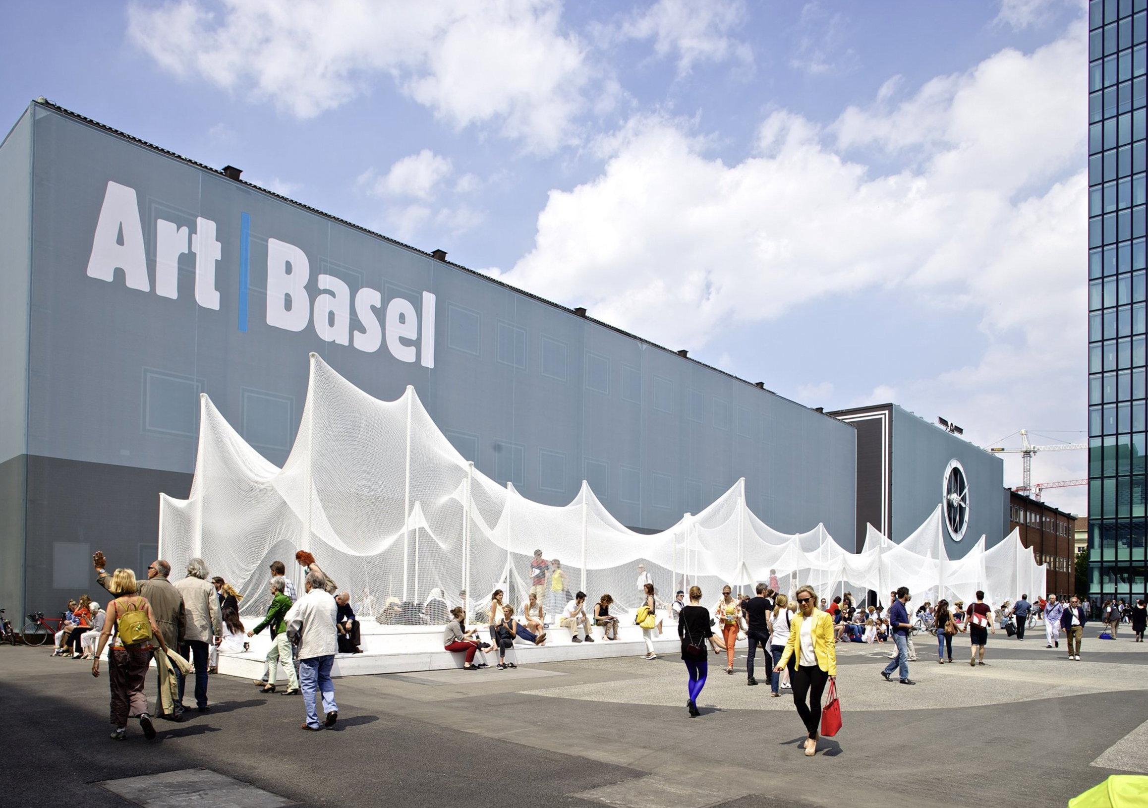 Photo: Art Basel Miami 2017.