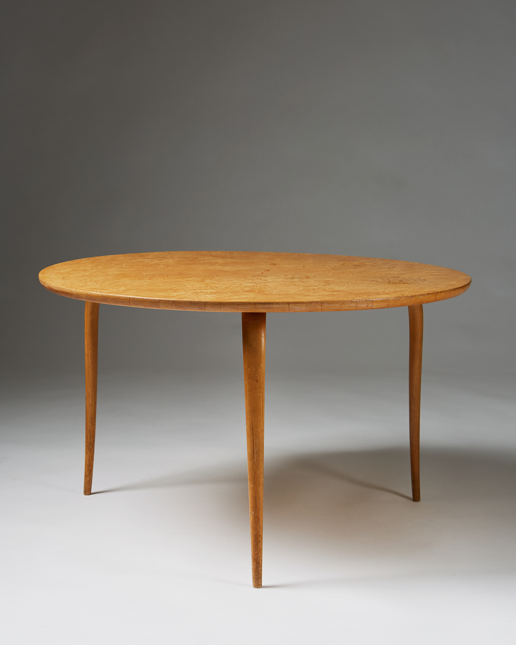 Bruno Mathsson   Annika, occasional table  Sweden, 1936 Birch and Karelian birch 51 x 85 cm