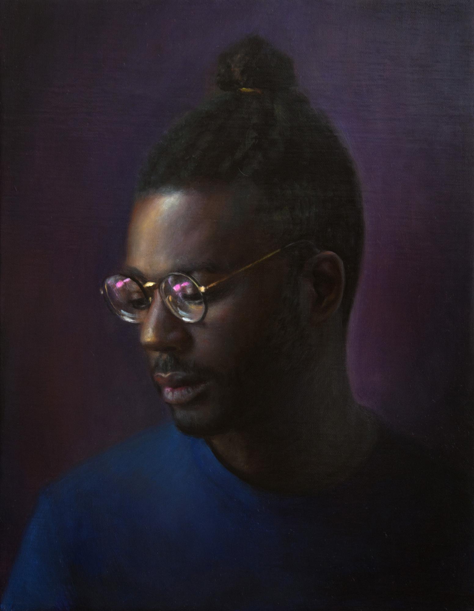 TM Davy   Paul  2018 Oil on canvas 46 x 35.5 cm