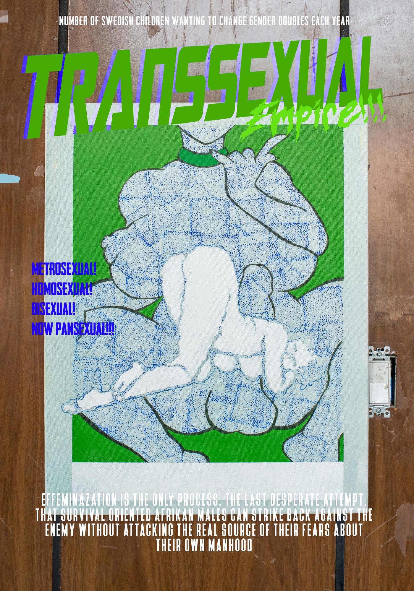 Juliana Huxtable   Transsexual Empire  2017 Inkjet Print 127 x 89 cm Edition 1/3 + 2AP
