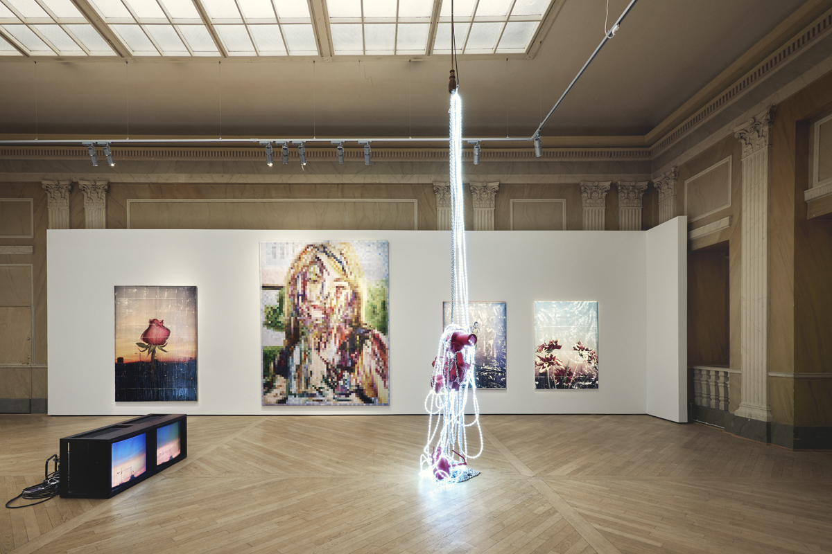 Exhibition view: 'Citronbiskvier' – Parker Ito at CFHILL.