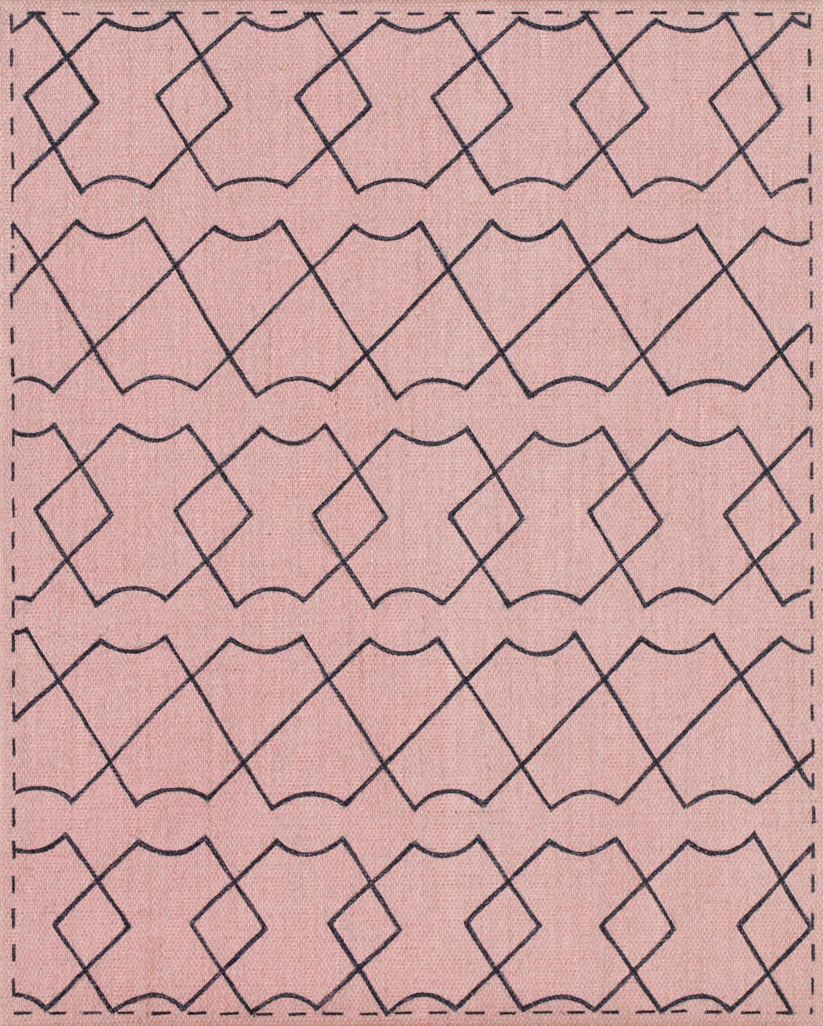 Norberg & Sundén  XXX  2019 Acrylic on linen cloth 30 x 24 cm