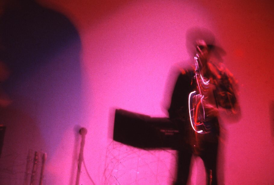 Ming Smith,   Red Hot Jazz Europe , 1982. Courtesy: Jenkins Johnson Gallery, New York