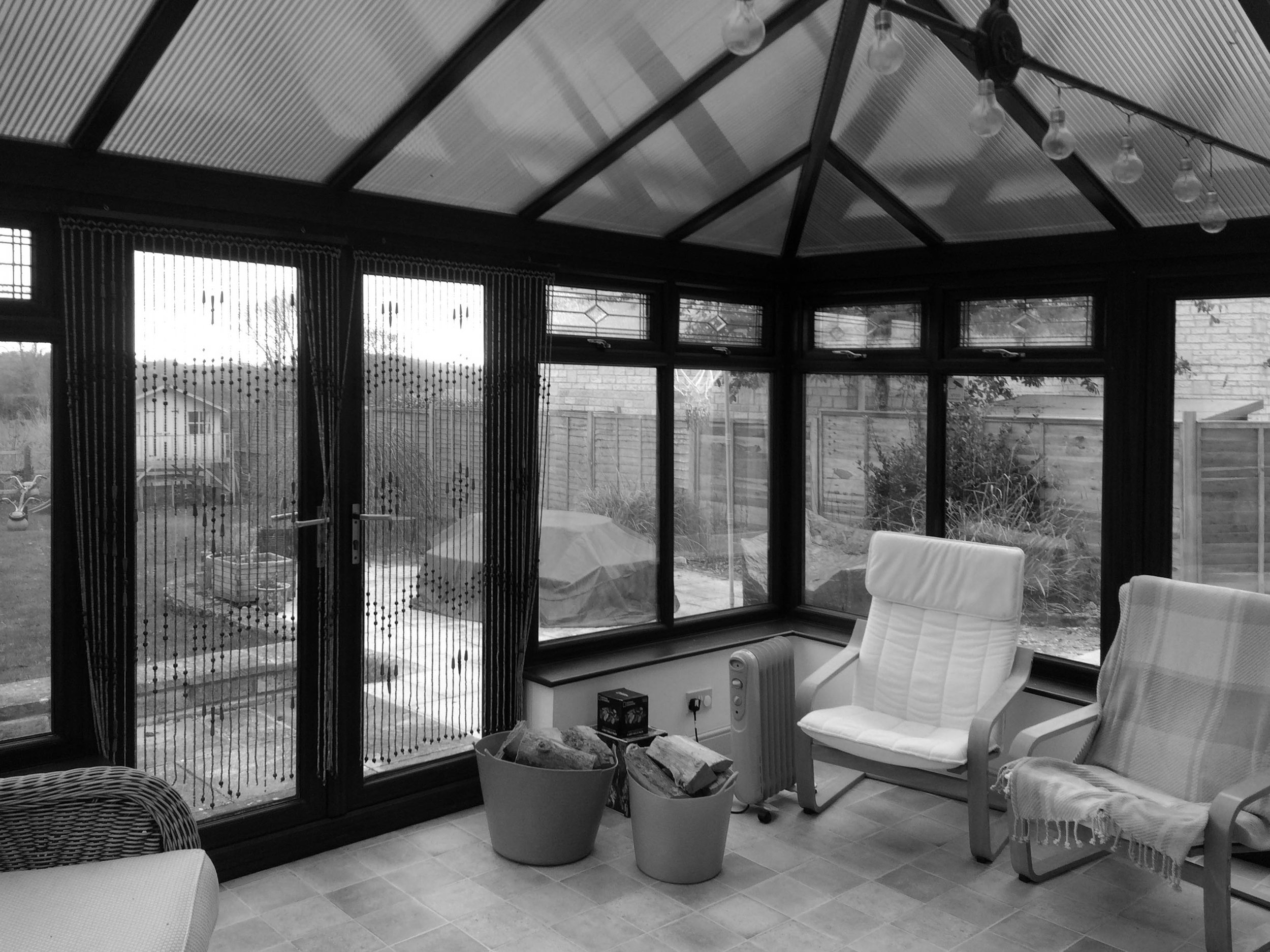 The old conservatory