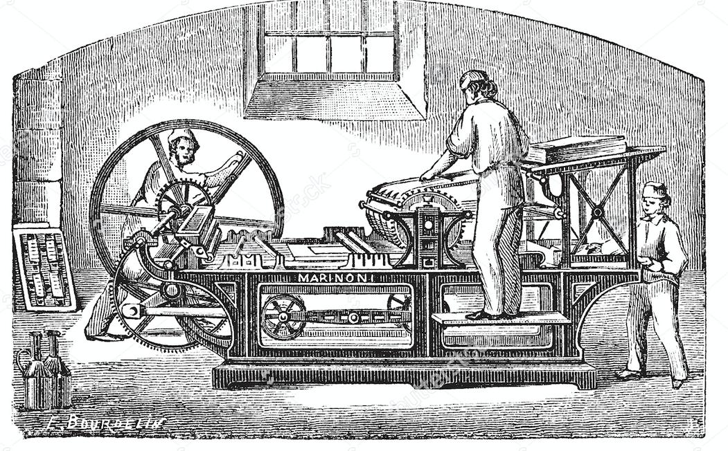 Marinoni Printing Press