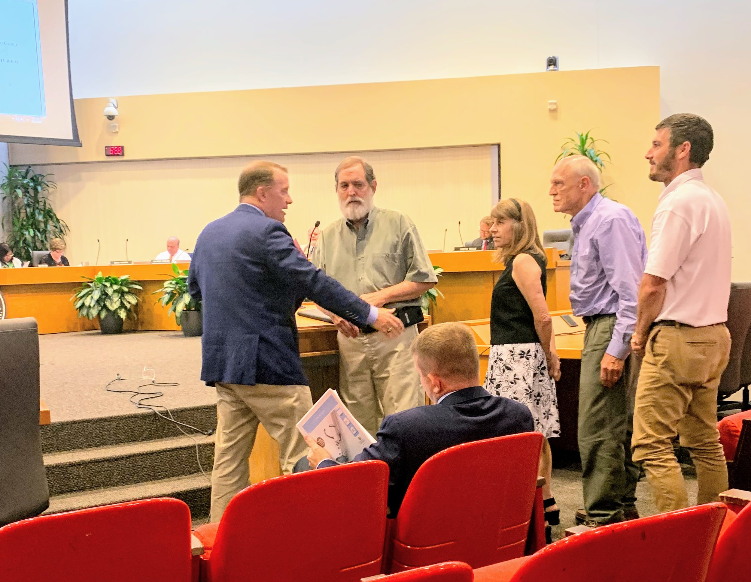 August 26, 2019 at County Commission