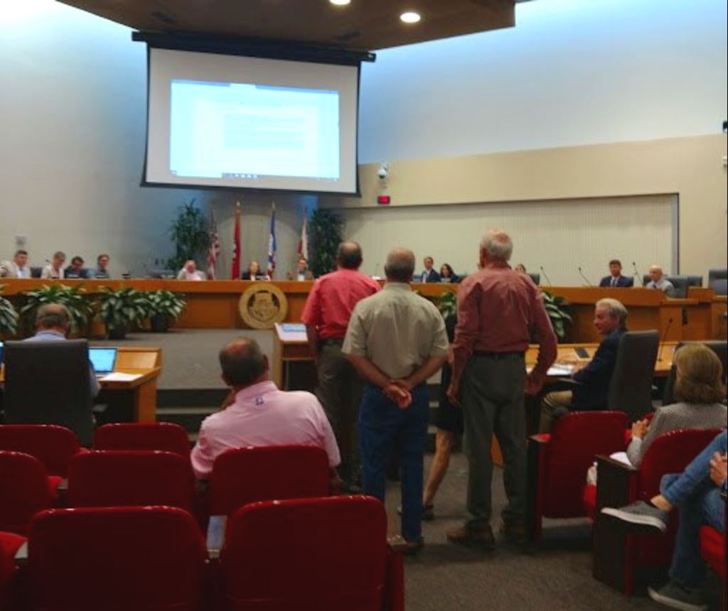 August 14, 2019 at City Council